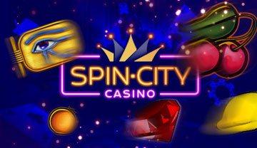 Spin City casino или Как играть в автоматы онлайн бесплатно