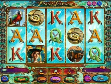 Игровой автомат Сокровище Пиратов в онлайн казино